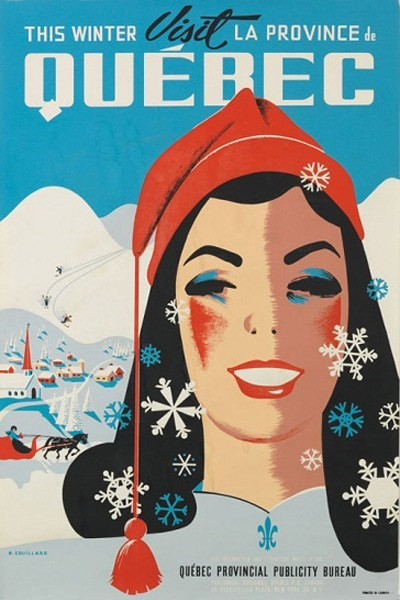 Canada,getaways,north america,quebec,retro travel,vintage travel