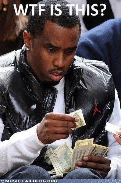 diddy money P Diddy Puff Daddy sean combs
