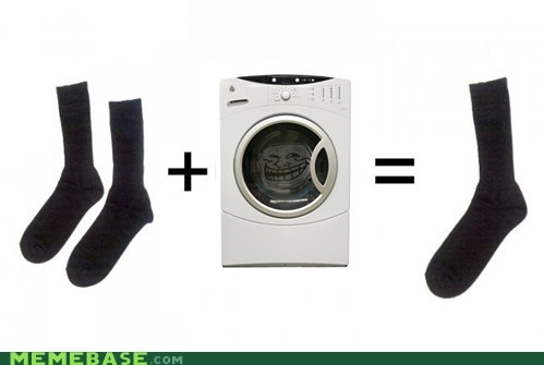 dryer,socks,troll,troll face