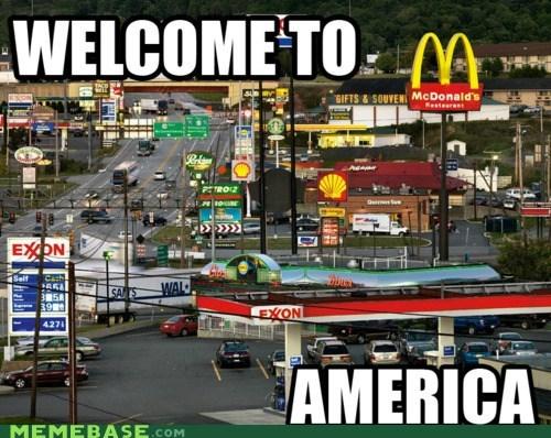 america consumerism f yeah Memes - 5833773824