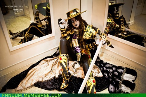 anime cosplay manga novel vampire hunter d - 5833849600