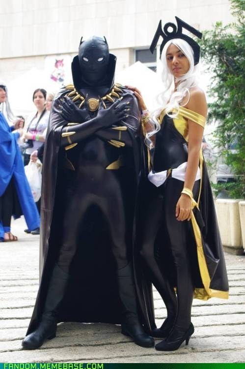 black panther,comics,cosplay,marvel,storm