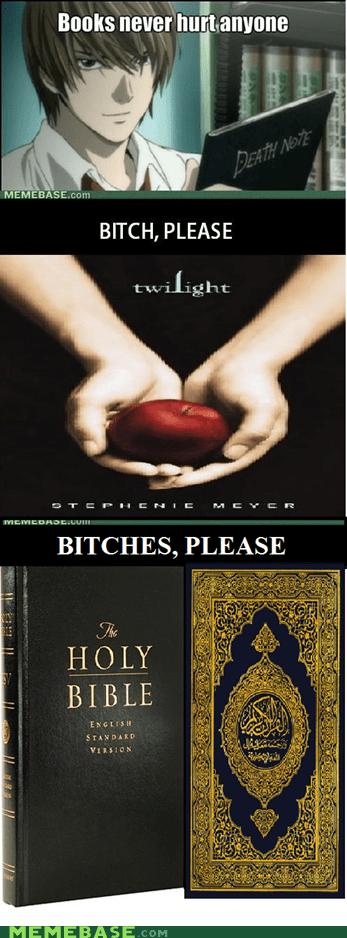 bible books deady death note Memes twilight - 5833933824