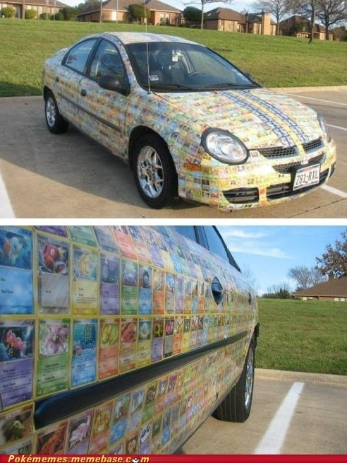 awesome car IRL pokemon cards shut up and take my money - 5833987072