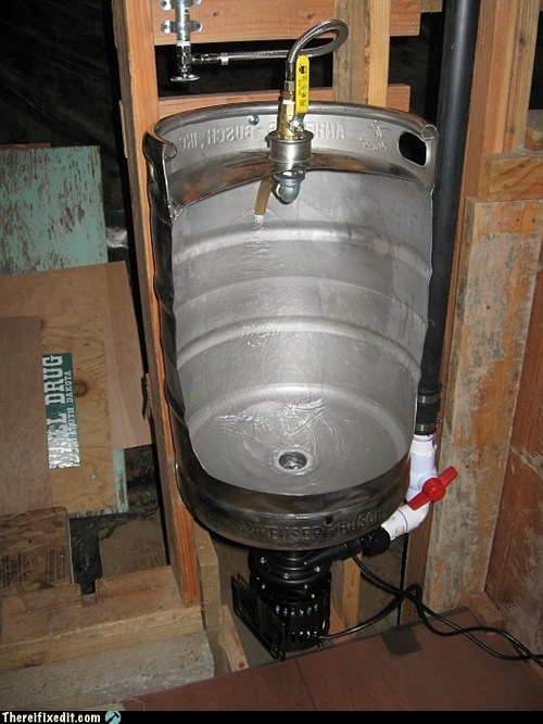 awesome beer DIY keg - 5834109952