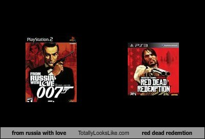 from russia with love Totally Looks Like red dead redemtion