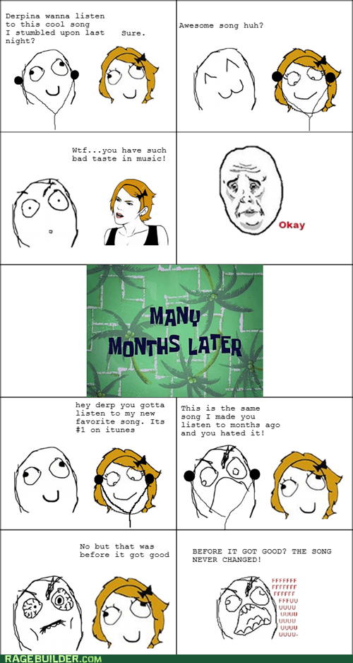fu guy,Music,Okay,Rage Comics