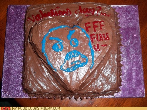 cake,chocolate,heart,love,Rageface,Valentines day