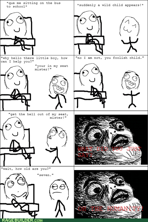 kids,Rage Comics,raisin face,rude