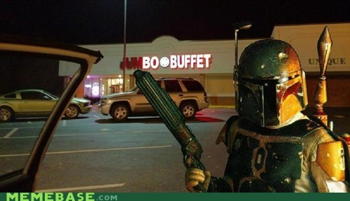 boba fett,buffer,buffet,Memes
