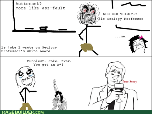 geology jokes Rage Comics truancy story true story - 5834612224