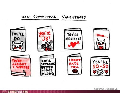 comic,commitment,commitment issues,valentines,Valentines day