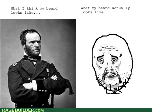 beard,Okay,Rage Comics,Sad