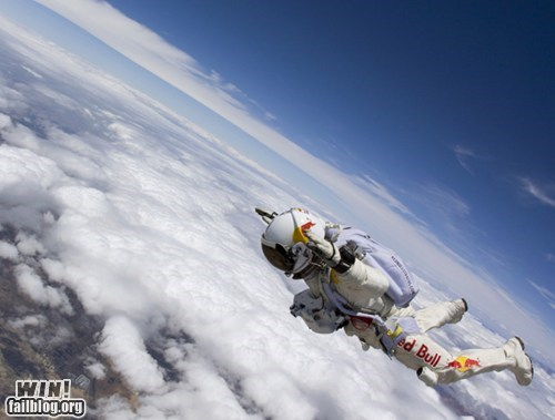 dive extreme sky diving space whee