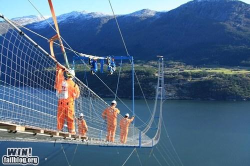 architecture bridge design heights vertigo - 5835042816