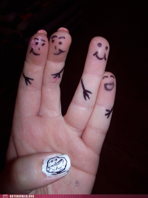 forever-a-thumb-forever-alone opposable thumbs - 5836378880