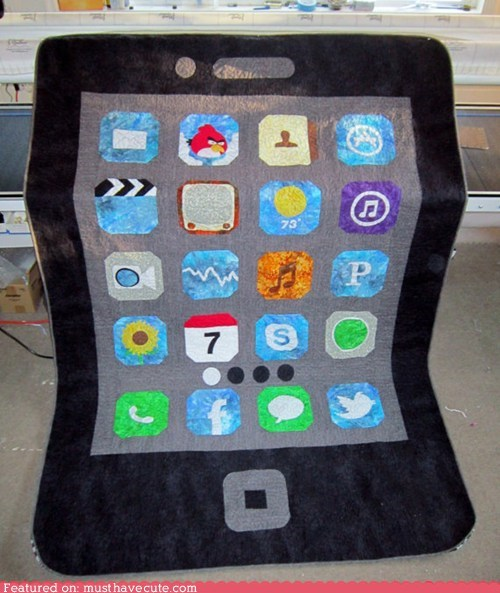 blanket,cell phone,iphone,quilt