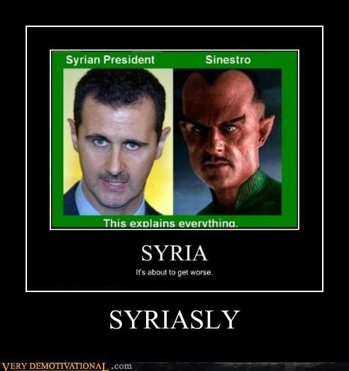 hilarious sinestro syria wtf - 5836941824