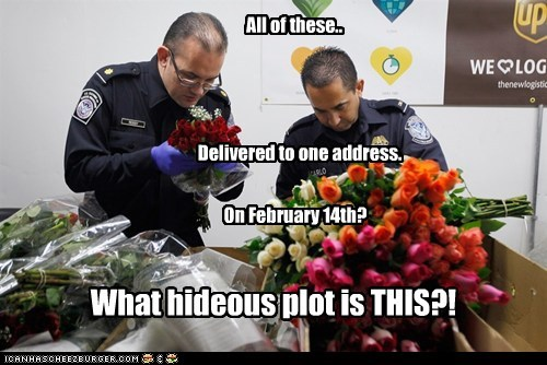flowers political pictures TSA Valentines day