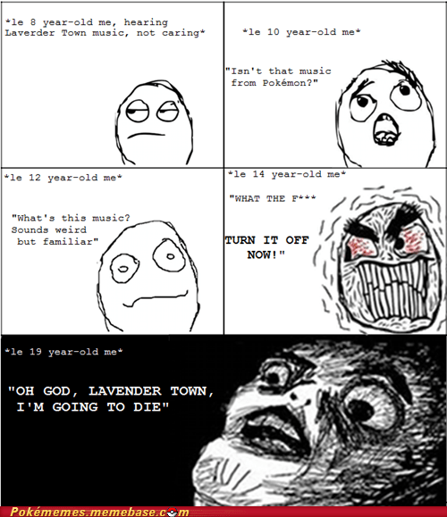 Death,lavender town,Music,rage comic,Rage Comics