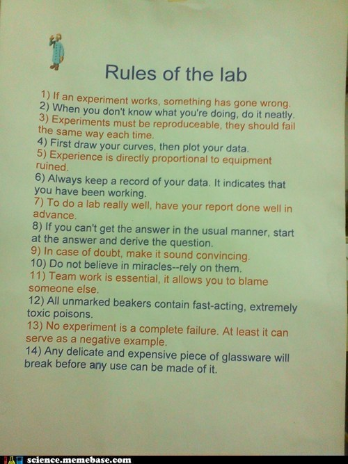 lab rules science wrong wtf - 5837188096