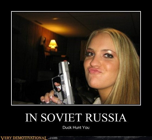 duck hunt hilarious russia soviet - 5837422336