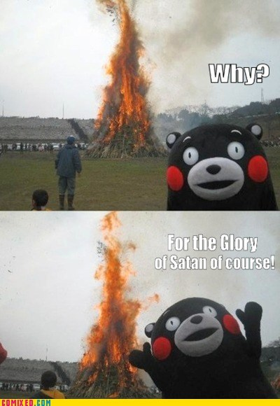 best of week fire glory Japan Memes religion satan the internets - 5837601536