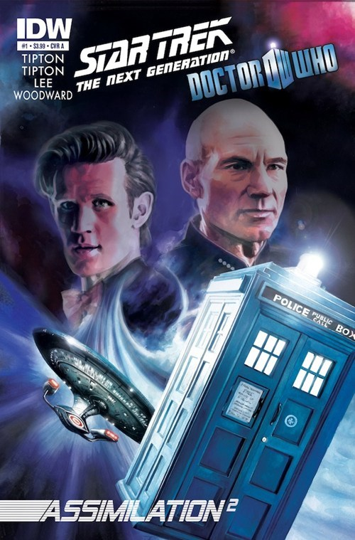 borg,comics,crossover,cybermen,doctor who,IDW,Star Trek,tv shows
