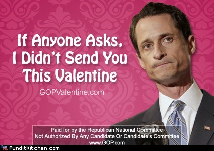 barack obama,GOP,political pictures,Republicans,valentines-day-anthony-weiner