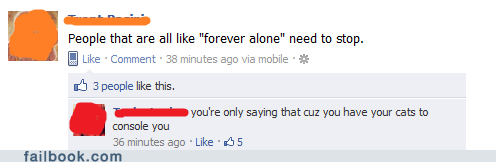 Cats forever alone - 5838377216