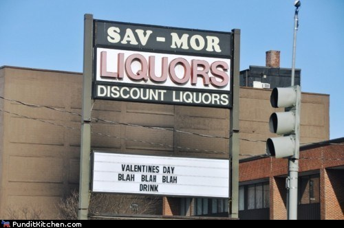 liquor political pictures Valentines day