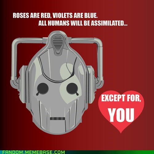 best of week cybermen doctor who Fan Art Valentines day Whoniverse - 5838767104