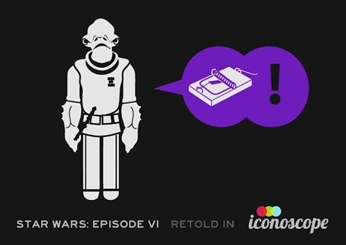 Fan Art,iconoscope,icons,infographic,movies,return of the jedi,star wars