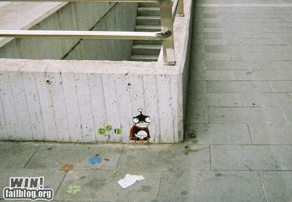 art,futurama,nerdgasm,nibbler,sci fi,Street Art