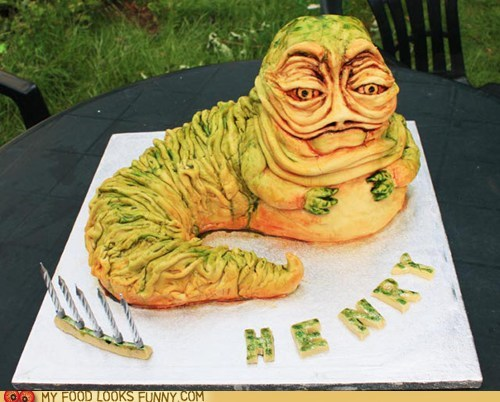 birthday cake jabba the hutt star wars - 5839263744