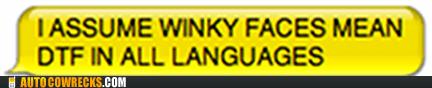 dtf emoticon sex sext winky face - 5839295744