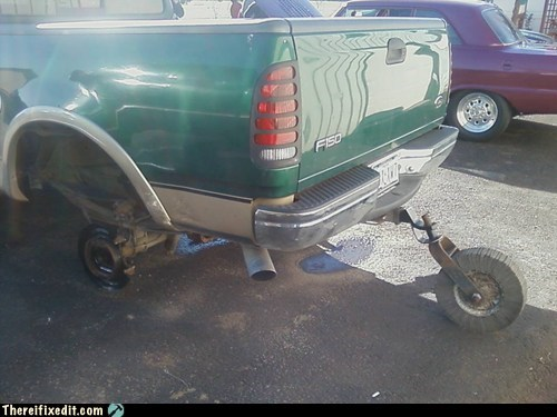 cars training wheels truck wtf - 5839311360