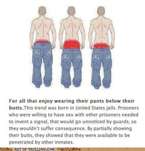 jail low pants the butt and nothing but - 5839338240