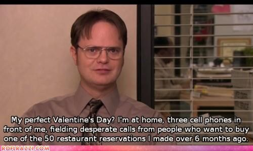 funny holiday rainn wilson the office TV Valentines day - 5839394816