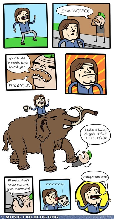 comic,mammoth,metal,musicface,skull