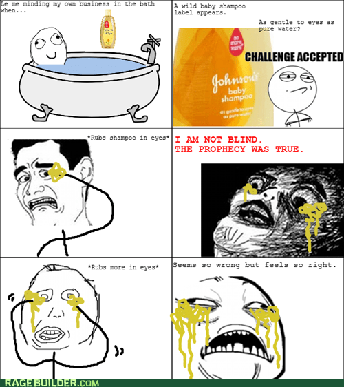baby shampoo,Rage Comics,raisin face,sweet jesus have mercy,tears