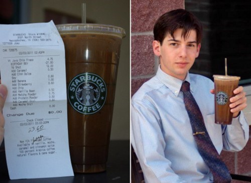 Everybody Needs A Hobby logan-a-warren Most Expensive Starbucks - 5839956224