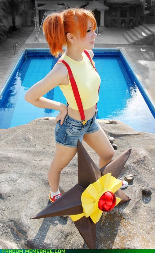 cosplay misty Pokémon video games - 5839956736
