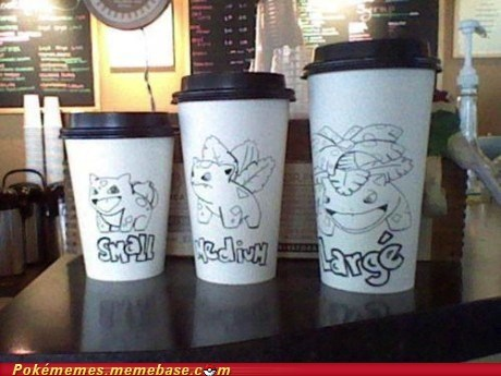 bulbasaur,coffee,Evolve,IRL