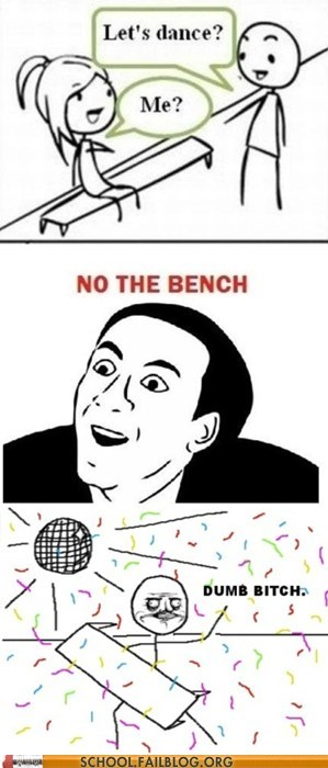 bench,dance,dancing,dumb,no,wanna-party