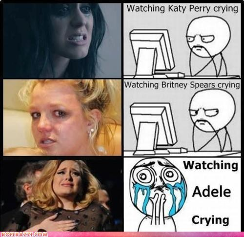 adele,britney spears,celeb,funny,katy perry,Music