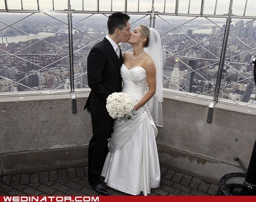 empire state building funny wedding photos gay marriage lesbian new york - 5840422656