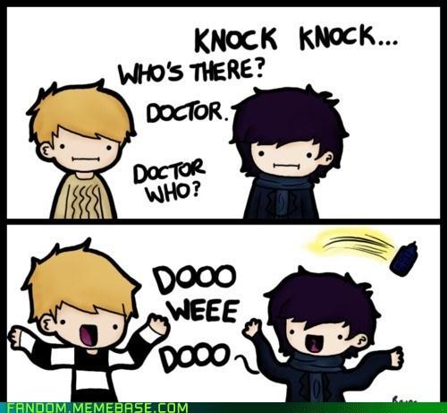 doctor who,Fan Art,scifi,sherlock holmes,Whovian