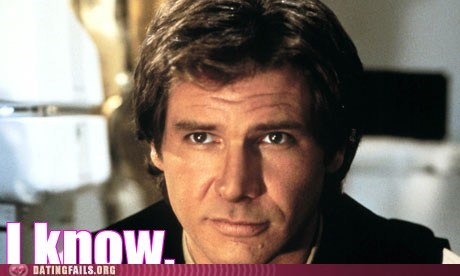 Han Solo i know i love you star wars - 5840657920
