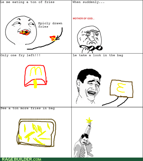 freddie,fries,mother of god,Rage Comics